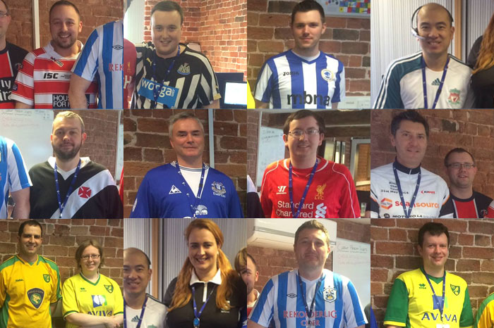 Cybertill goes football crazy to raise funds for CRUK