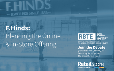 F Hinds: Blending the on-line and in-store offering