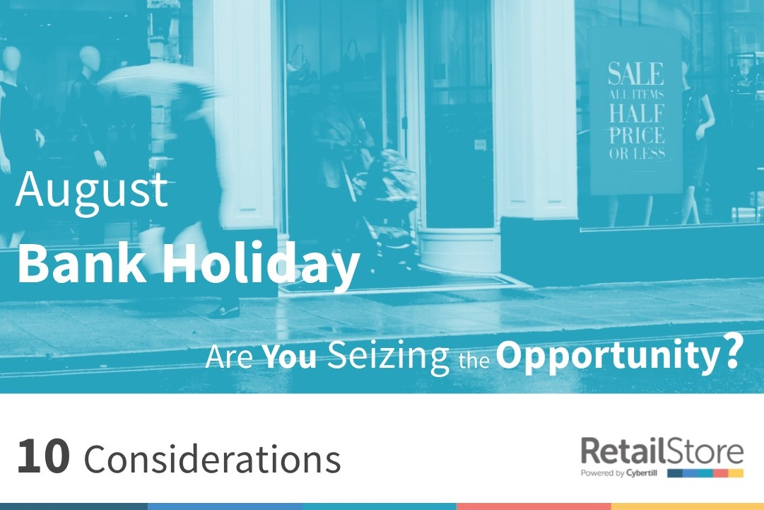 The August Bank Holiday's Extended Peak Shopping Period.  Are retailers doing enough to seize the opportunity?